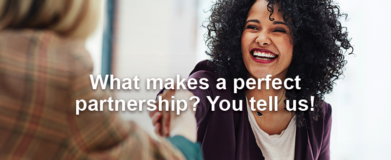 What makes a perfect partnership? You tell us!